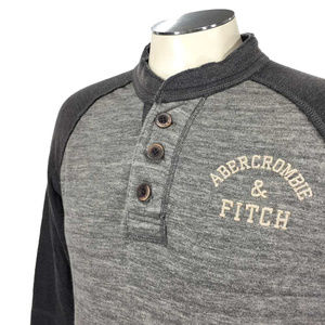 Abercrombie & Fitch Muscle Henley T Shirt